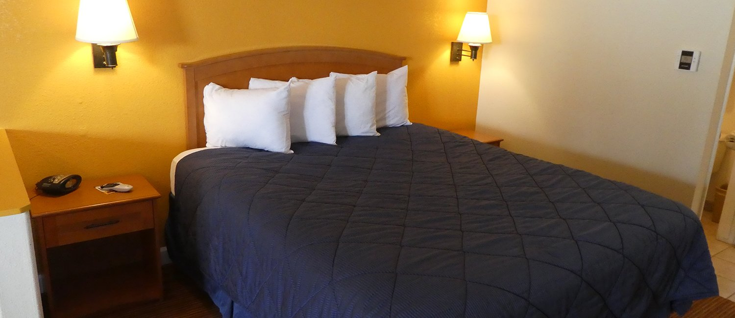 Comfortable accommodations perfect for business travelers or couples visiting Lemoore