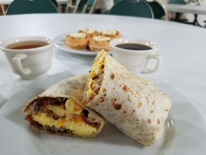Travelodge Lemoore - Breakfast Burrito served as part of breakfast