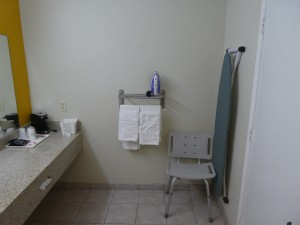 Travelodge Lemoore - ADA Compliant Guest Bathroom