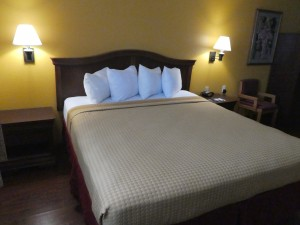 King Bedroom at Travelodge Lemoore