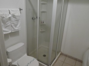 Travelodge Lemoore - Some bathrooms provide a shower